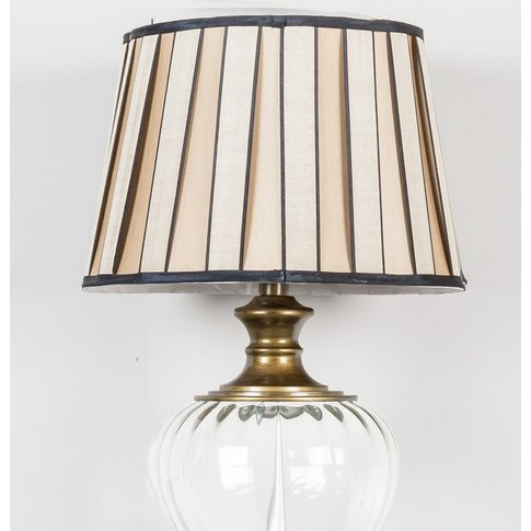 Deco Home 15in Pleated Drum Shade Bronze Dual Fittin...