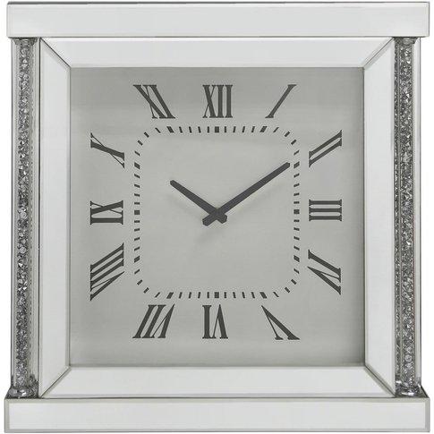 50cm Sadia Mirror Wall Clock