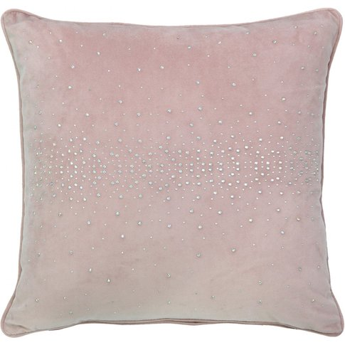 Unfilled Pink Sparkle Cushion