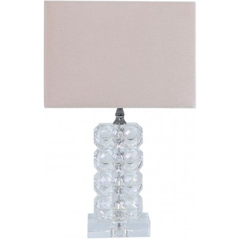 Cimc Small 34.5cm Rectangle Crystal Table Lamp With ...