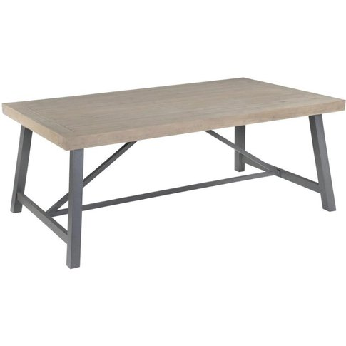 Rowico Lara 1.6m Fixed Top Dining Table