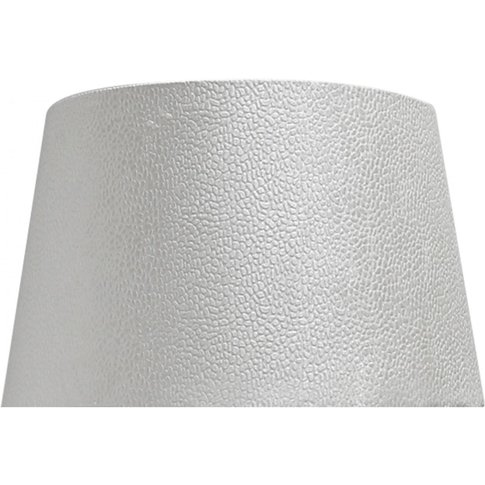 Deco Home 19in Faux Suede Snakeskin Shade (Dual Fitt...