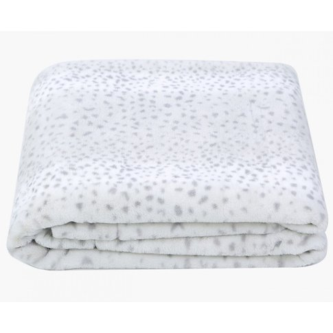 Cimc Value Grey Leopard Pattern Throw