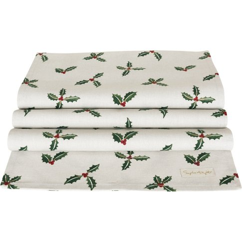 Holly & Berry Table Runner