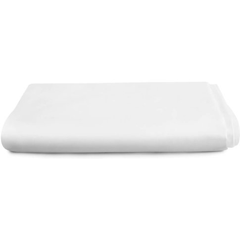 Luxury Deep Fitted Sheet White, Super King