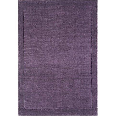 Asiatic Carpets York Hand Woven Rug Purple - 80 X 150cm