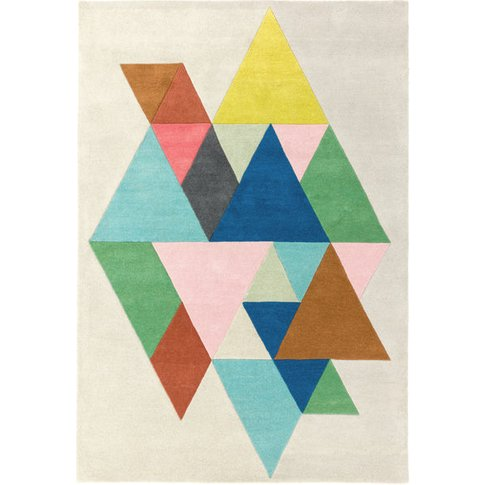 Asiatic Carpets Reef Handtufted Rug Triangle Multi - 160 X 230cm