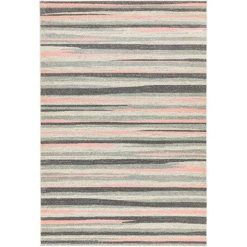 Asiatic Carpets Colt Machine Woven Rug Stripe Pink -...