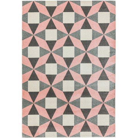 Asiatic Carpets Colt Machine Woven Rug Fan Pink - 12...