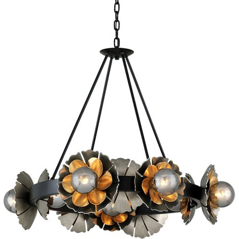 Hudson Valley Lighting Magic Garden Hand-Crafted Iro...