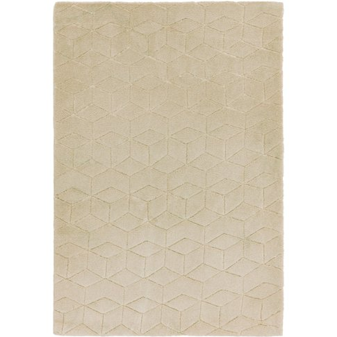 Asiatic Carpets Cozy Knitted Rug Beige - 80 X 150cm
