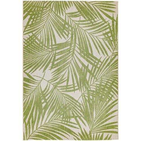 Asiatic Carpets Patio Machine Woven Rug Green Palm -...