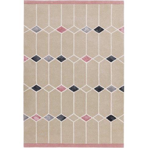 Asiatic Carpets Matrix Hand Tufted Rug Jewel Pink - ...