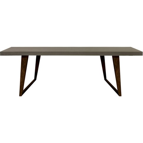 Fuhrhome Grey / Brown Hamburg Dining Table