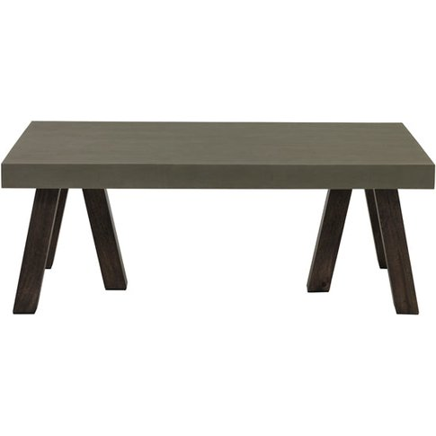 Fuhrhome Grey / Brown Edison Coffee Table