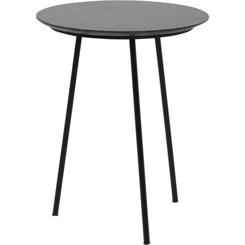 Fuhrhome Black Florence Side Table