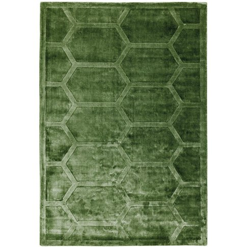 Asiatic Carpets Kingsley Hand Woven Rug Green - 120 ...