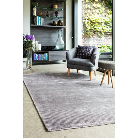 Asiatic Carpets Bellagio Hand Woven Rug Silver - 160...