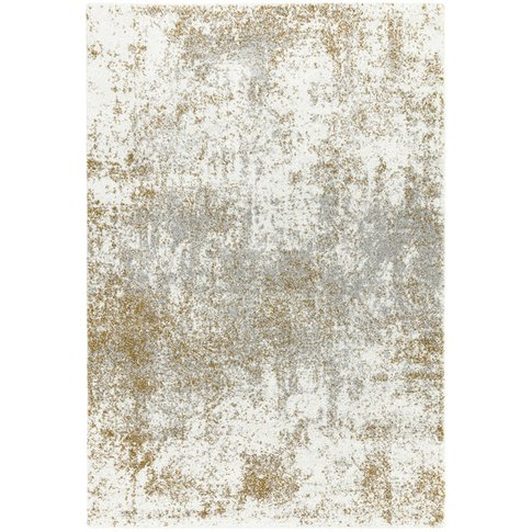 Asiatic Carpets Dream Machine Woven Rug Cream Gold -...