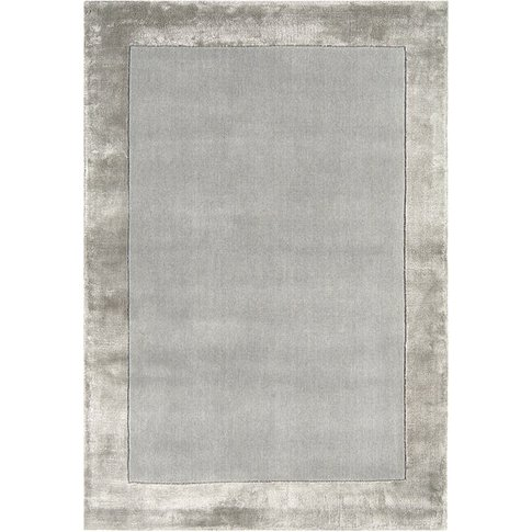 Asiatic Carpets Ascot Hand Woven Rug Silver - 160 X ...