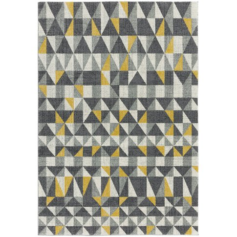 Asiatic Carpets Nova Machine Woven Rug Flag Yellow -...