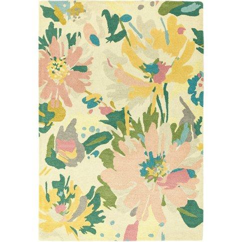 Asiatic Carpets Reef Handtufted Rug Floral Pink Mult...