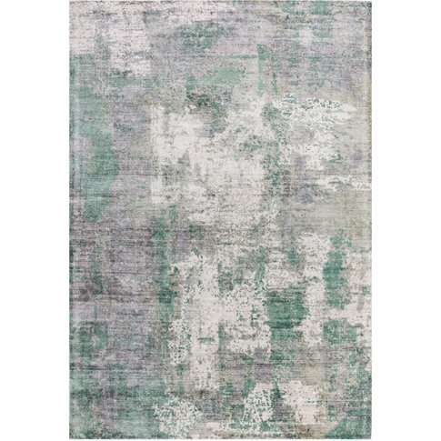 Asiatic Carpets Gatsby Hand Woven Rug Green - 120 X 170cm