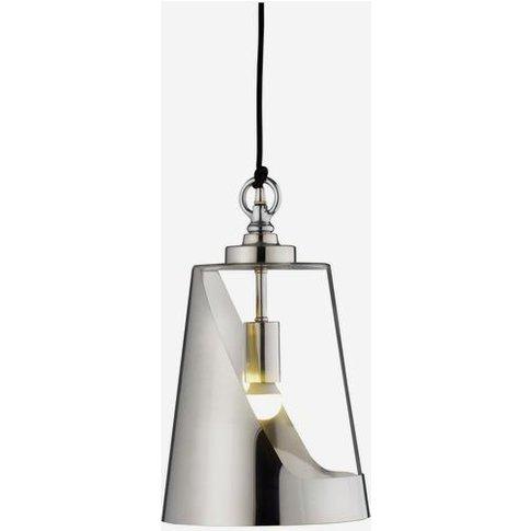 Andrew Martin Bessie Pendant Light - Small / Steel