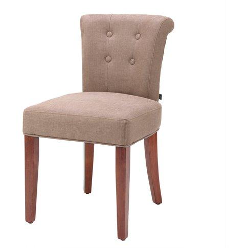 Eichholtz Dining Chair Key Largo Camel Linen New