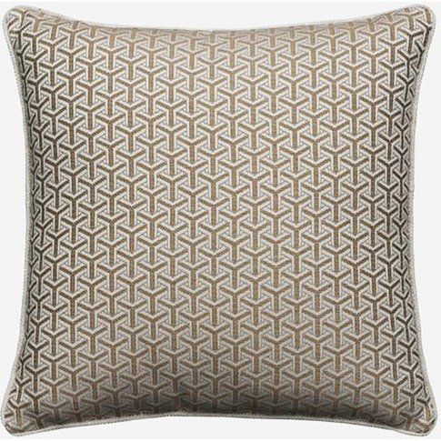 Andrew Martin Monte Almond Cushion