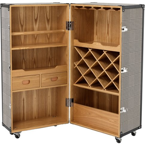 Eichholtz Martini Bianco Dixon Wine Cabinet In Black...
