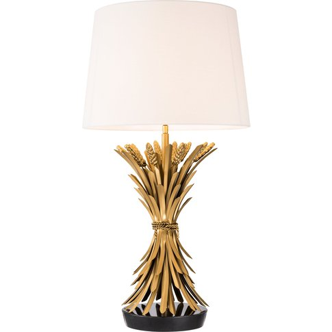 Eichholtz Bonheur Table Lamp In Antique Gold Finish ...