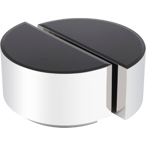 Eichholtz Astra Polished Silver Side Table