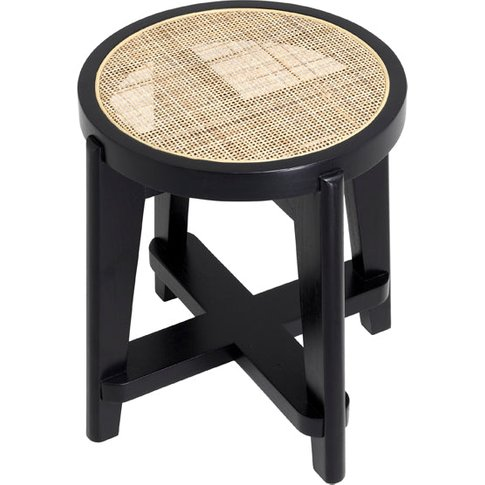 Eichholtz Dareau Classic Bar Stool In Black