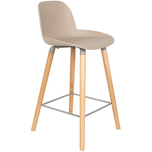 Zuiver Albert Kuip Bar Stool Taupe / Taupe / Large