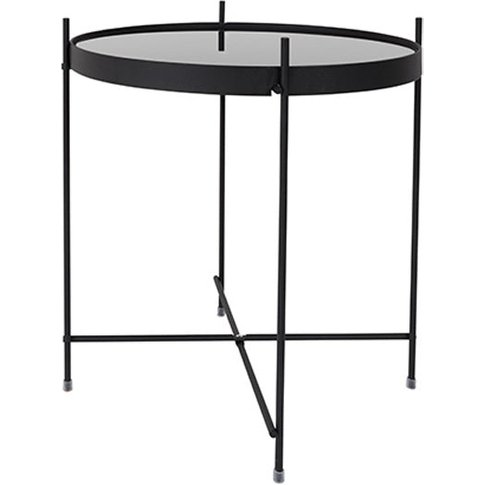 Zuiver Cupid Side Table / Black / Marble