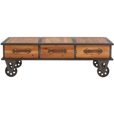Olivia's Industrial Coffee Table