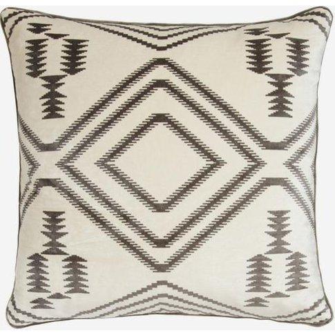 Andrew Martin Navaho Grey Cushion