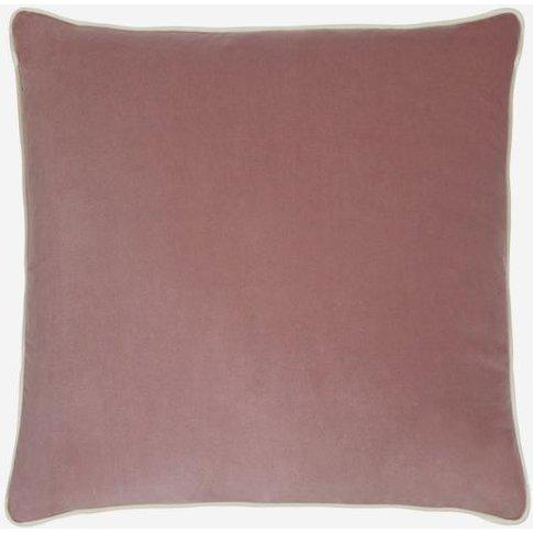 Andrew Martin Pelham Rose Cushion With Milk Piping |...