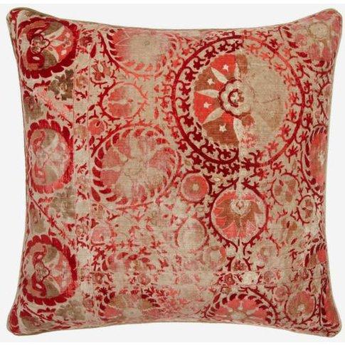Andrew Martin Iznik Red Cushion