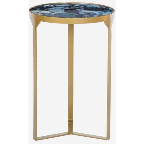 Andrew Martin Ida Side Table Cobalt