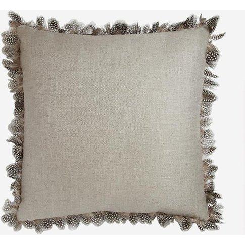 Andrew Martin Ossington Linen / Guinea Cushion