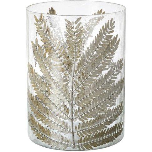 Fern Spray Hurricane Vase Small (2pk)