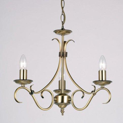 Gallery Direct Bernice Pendant Light / Antique Silve...