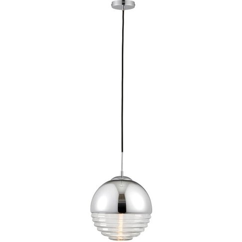 Gallery Direct Paloma Pendant Light / Gold Tinted