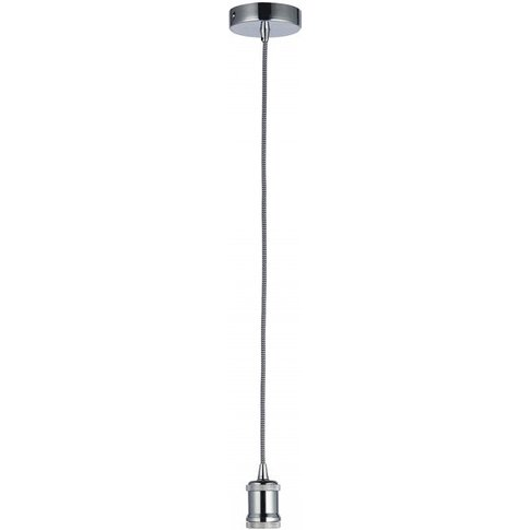 Gallery Direct Cambourne Pendant Light In Chrome