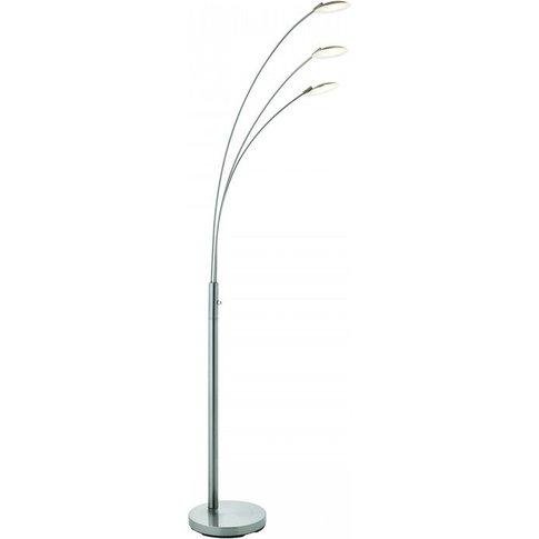 Gallery Direct Fynn Floor Lamp / Chrome / 5.0