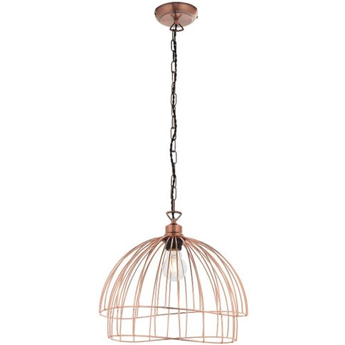 Gallery Direct Jericho Pendant Light Copper