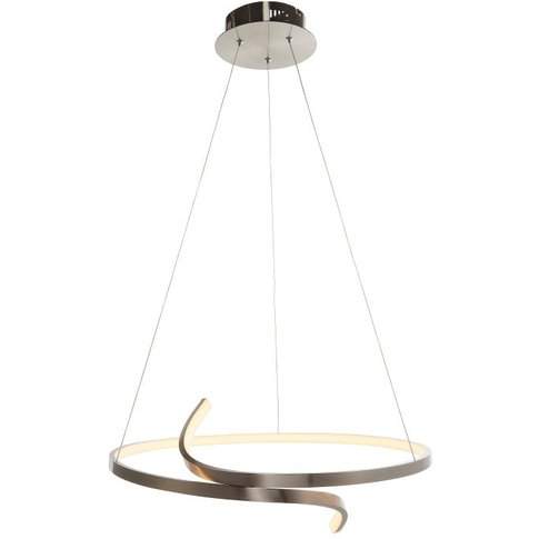 Gallery Direct Rafe Pendant Light In Satin Nickel   ...