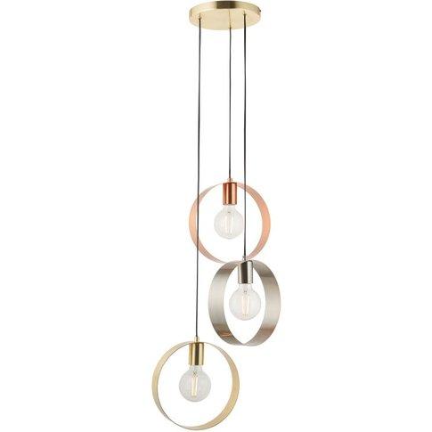 Gallery Direct Hoop 3 Pendant Light